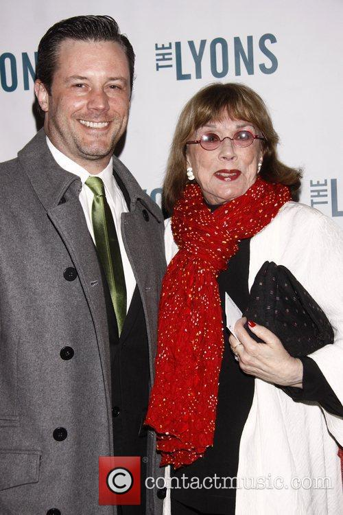 Richard Roland and Phyllis Newman Broadway opening night...