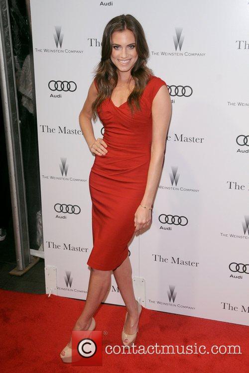 Allison Williams New York Premiere of The Master...