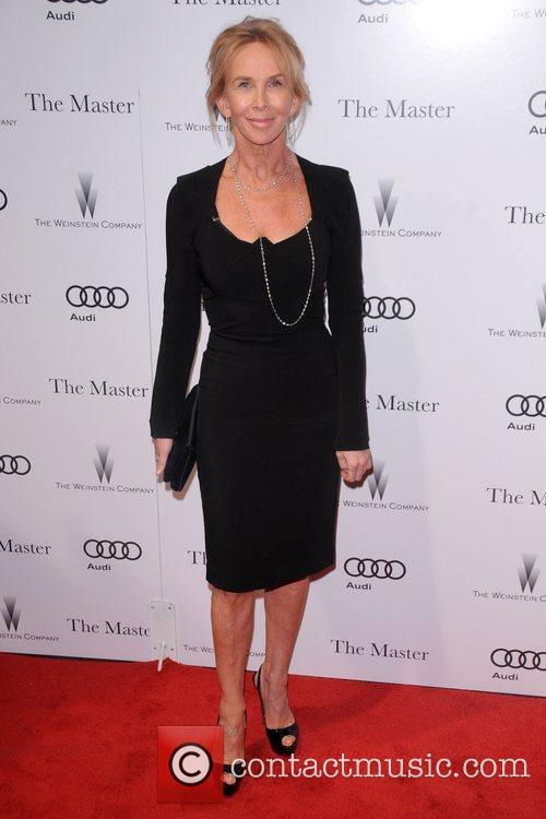 Trudie Styler New York Premiere of The Master...