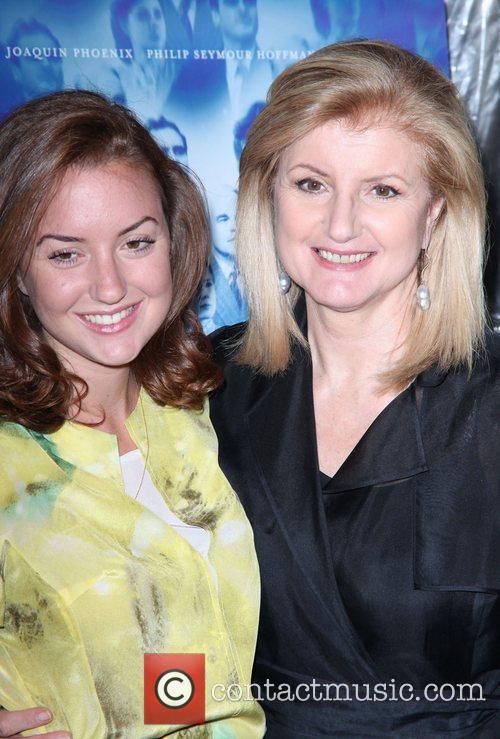 Christine Sophia Huffington and Arianna Huffington New York...