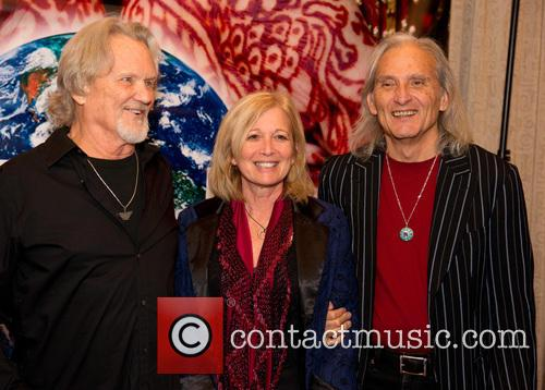 Kris Kristofferson, Janet Gilmore and Jimmie Dale Gilmore 1