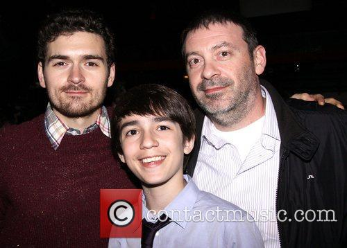 Alex Falberg and family Opening night of the...
