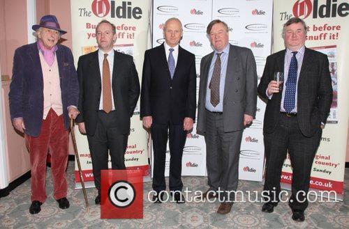 Peregrine Worsthorne, Roger Allsopp, Ken Clarke and guests...