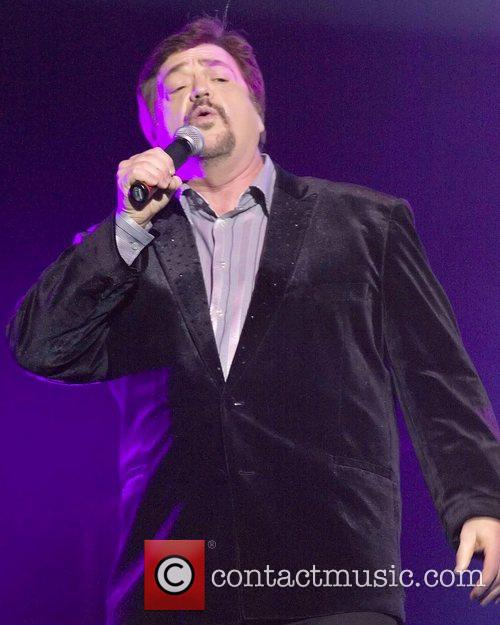 Jay Osmond performing live at the Royal Concert...