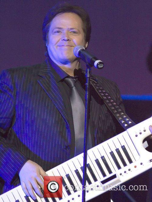 Jimmy Osmond performing live at the Royal Concert...