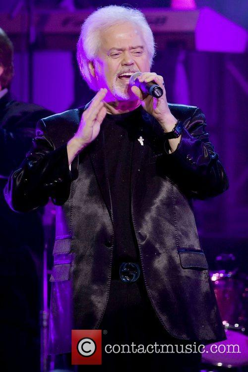 Merrill Osmond performing live at the Royal Concert...