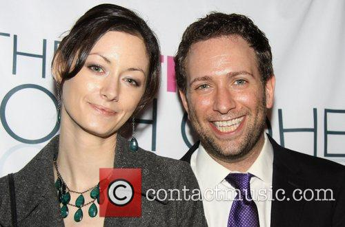 Adrien Smith and David Rossmer Opening night party...