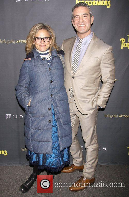 Amy Sedaris and Andy Cohen 2