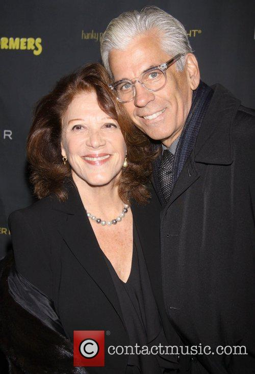 Linda Lavin and Steve Bakunas  attends the...