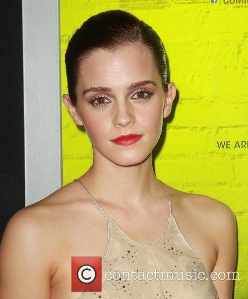 Emma Watson at the Los Angeles Premiere of 'The Perks of Being a Wallflower'