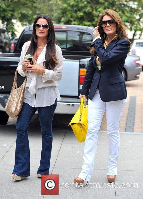 Kyle Richards and Lisa Vanderpump out and about...