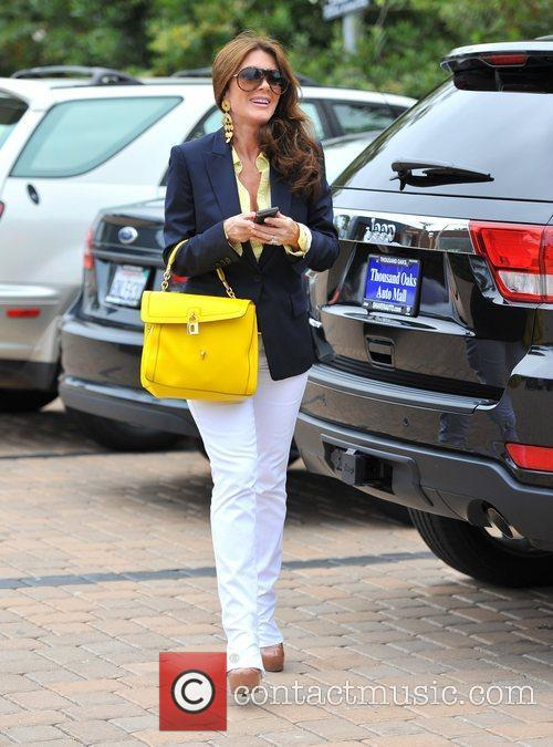 Lisa Vanderpump and Kyle Richards out and about...