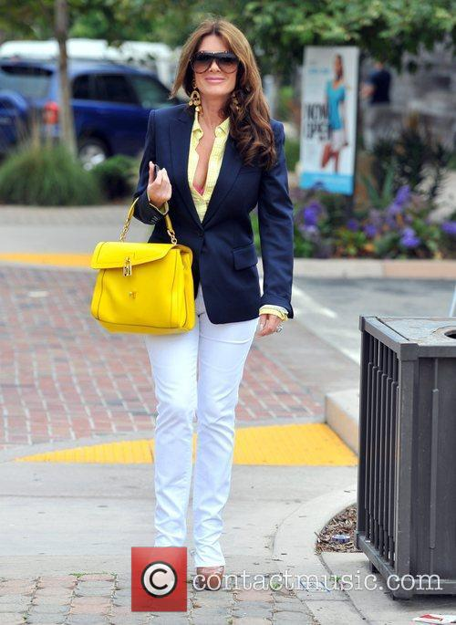 And Kyle Richards out and about in Malibu