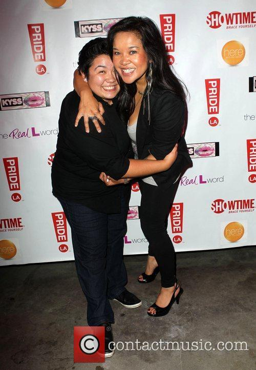 Charlene Borja and Guest 'The Real L Word':...