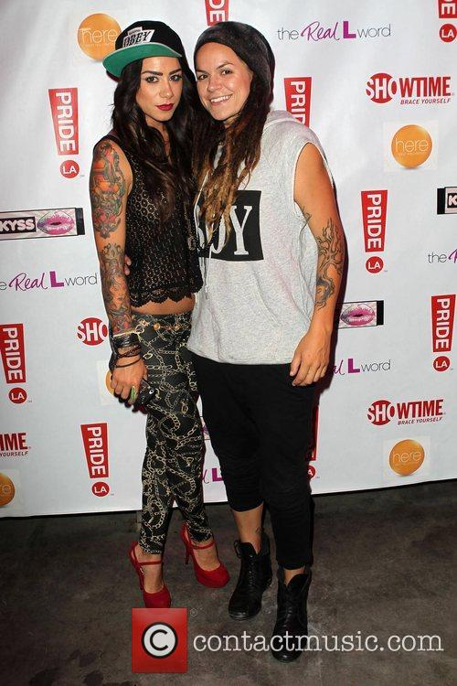 Sara Bettencourt, Whitney Mixter 'The Real L Word':...