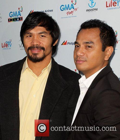 Manny Pacquiao and Yam Laranas 2