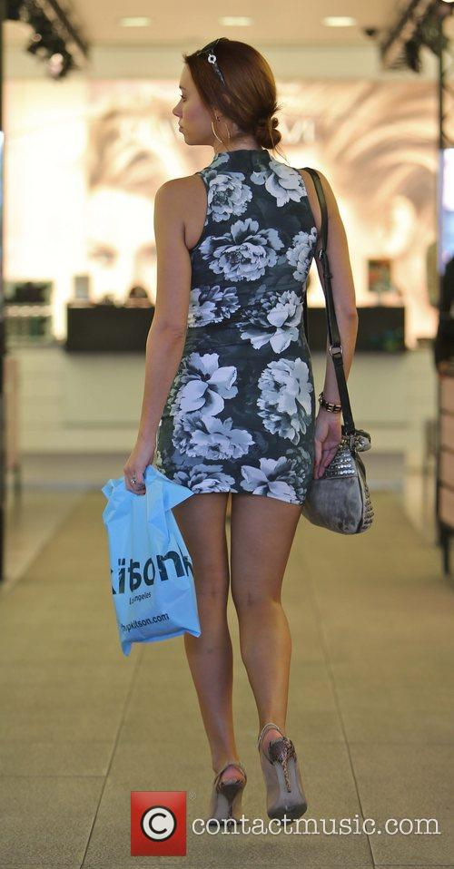 'The Saturdays' shopping on Robertson Boulevard