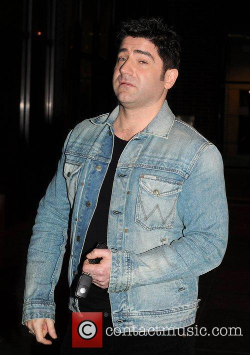 Brian Kennedy Celebrities outside the RTE studios for...