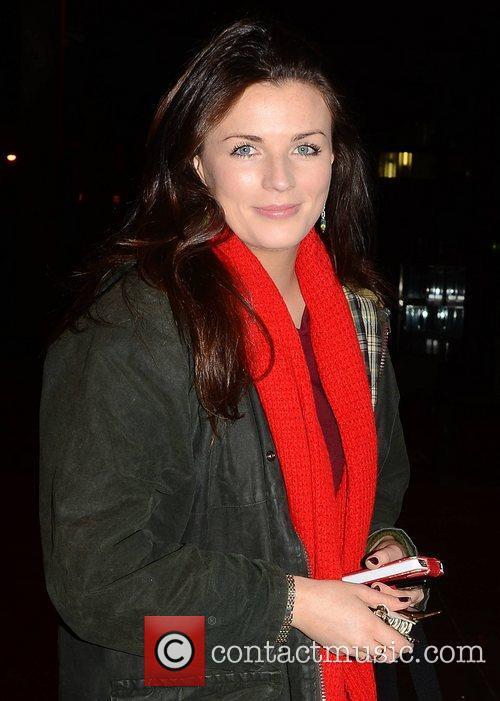 Aisling Bea Celebrities outside the RTE Studios for...