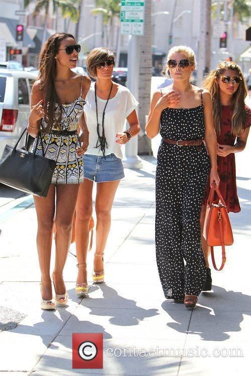 Rochelle Wiseman, Frankie Sandford, Mollie King, The Saturdays and Vanessa White 4