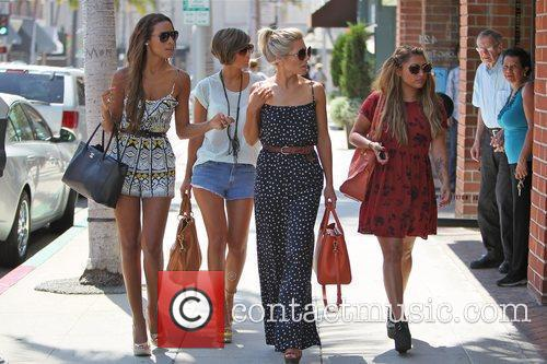 Rochelle Wiseman, Frankie Sandford, Mollie King, The Saturdays and Vanessa White 5