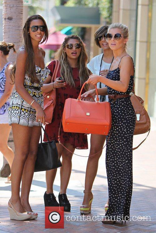 Rochelle Wiseman, Frankie Sandford, Mollie King, The Saturdays and Vanessa White 1
