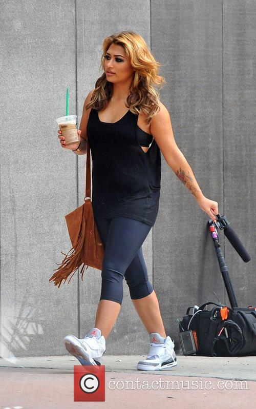 vanessa white the saturdays arriving at a 4122529