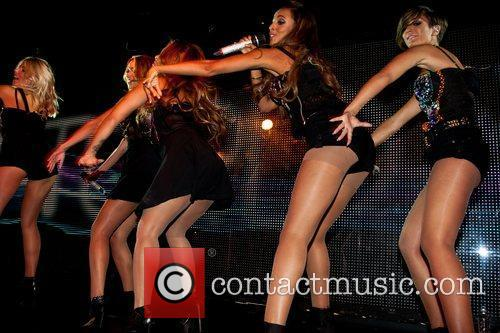 The Saturdays perform their East Coast debut at...