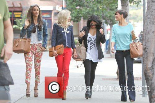 Rochelle Wiseman, Mollie King and Vanessa White 3