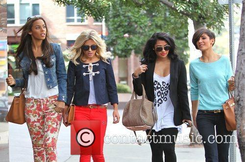 Rochelle Wiseman, Mollie King and Vanessa White 1