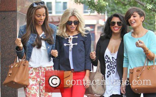 Rochelle Wiseman, Mollie King and Vanessa White 6