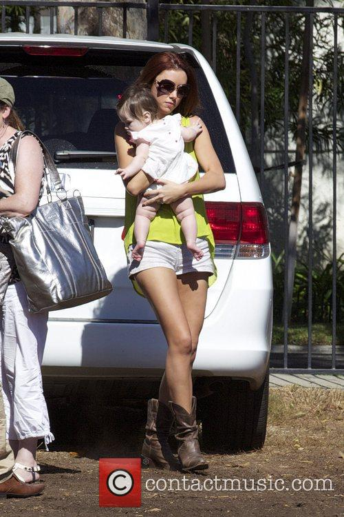 Una Healy and her daughter Aoife Belle...