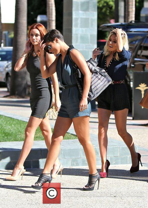Frankie Sandford, Mollie King and Una Healy 10