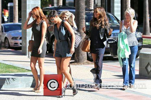 Frankie Sandford, Rochelle Humes, Mollie King and Una Healy 3
