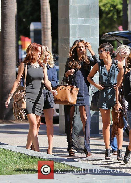 Frankie Sandford, Rochelle Humes, Mollie King and Una Healy 7