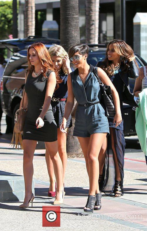 Frankie Sandford, Rochelle Humes, Mollie King and Una Healy 4