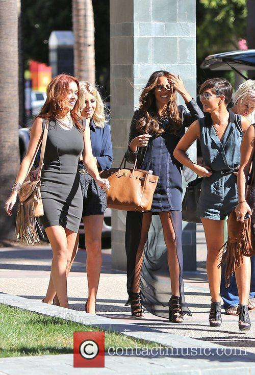 Frankie Sandford, Rochelle Humes, Mollie King and Una Healy 9