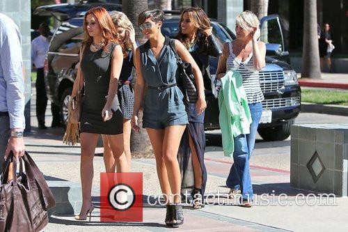 Frankie Sandford, Rochelle Humes, Mollie King and Una Healy 5