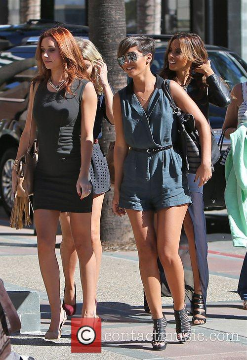 Frankie Sandford, Rochelle Humes, Mollie King and Una Healy 2