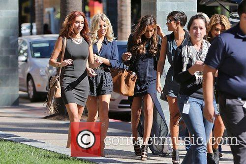 Vanessa White, Frankie Sandford, Rochelle Humes, Mollie King and Una Healy 8