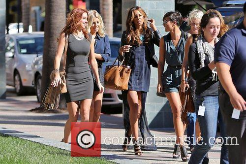 Vanessa White, Frankie Sandford, Rochelle Humes, Mollie King and Una Healy 7