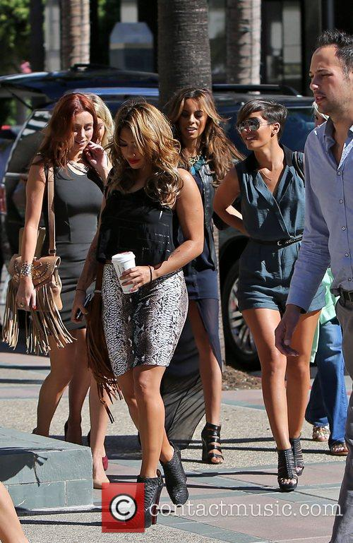Vanessa White, Frankie Sandford, Rochelle Humes, Mollie King and Una Healy 4
