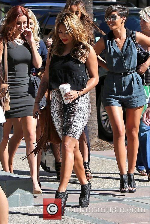 Vanessa White, Frankie Sandford, Rochelle Humes, Mollie King and Una Healy 1