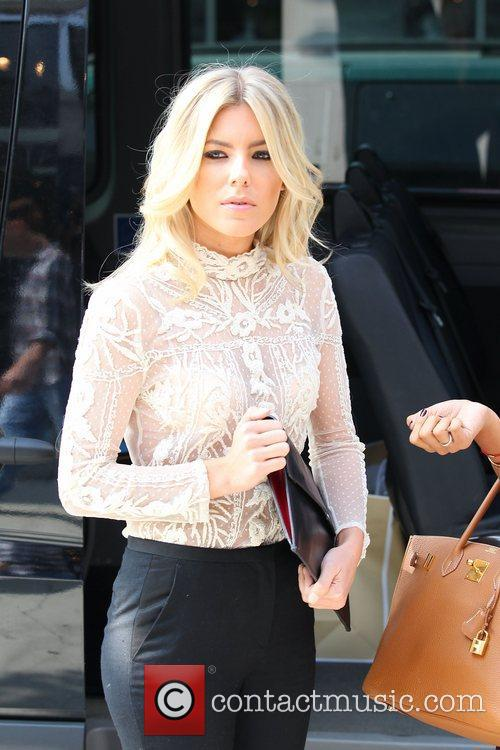 Mollie King 'The Saturdays' shopping on Robertson Boulevard...