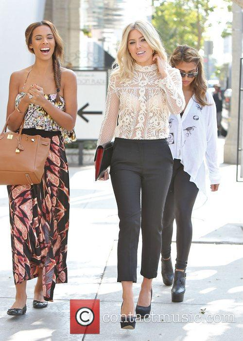 Rochelle Humes aka Rochelle Wisema and Mollie King,...