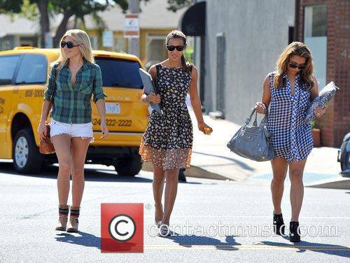 Mollie King, Rochelle Humes and Vanessa White 4