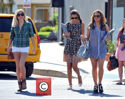 Mollie King, Rochelle Humes and Vanessa White 3