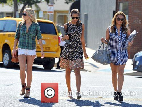 Mollie King, Rochelle Humes and Vanessa White 1