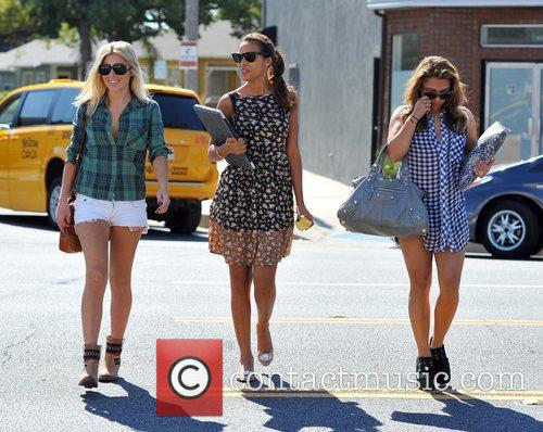 Mollie King, Rochelle Humes and Vanessa White 5