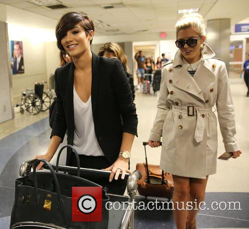 Una Healy, Vanessa White, Frankie Sandford and Mollie King 8
